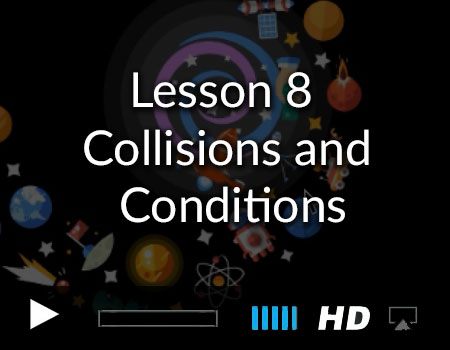 Collision Detection and Listening for Conditions in Xcode with the Story Tellers Kit