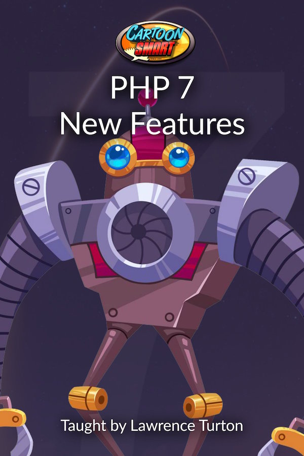 PHP 7 New Features Video Tutorials 600 wide
