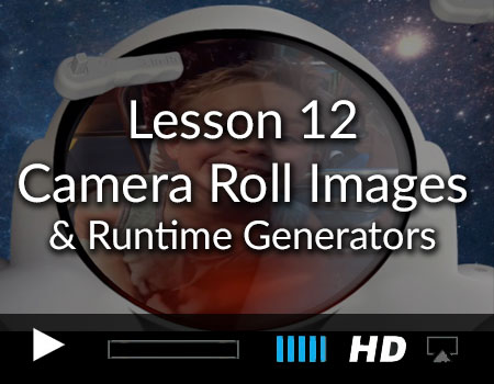 Tutorial 12 – Camera Roll Images and Generating Elements at Runtime