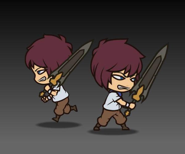 Anime Knight Boy