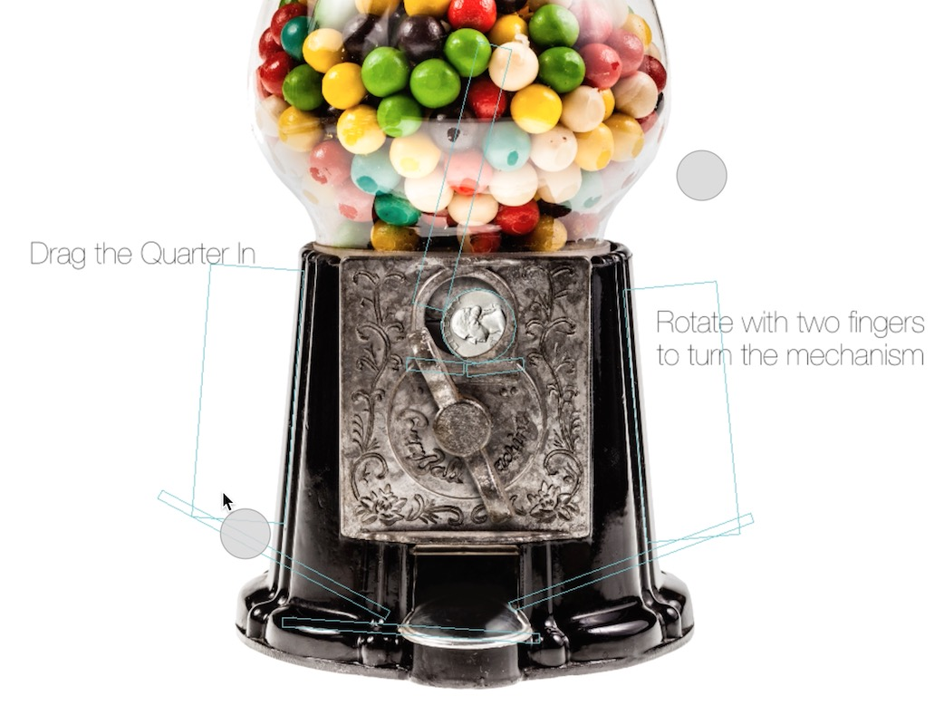 Gumball Machine Demo using the Story Tellers iOS Starter Kit 2