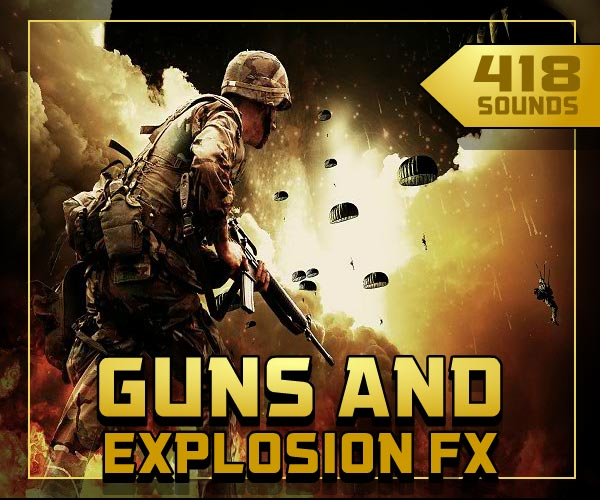 Guns & Explosions Sound Effects