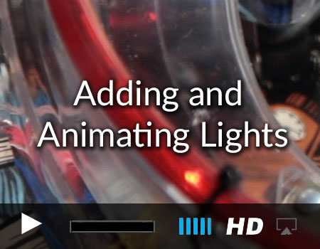 Animating Lights in the Pinball Games tvOS and iOS Starter Kit