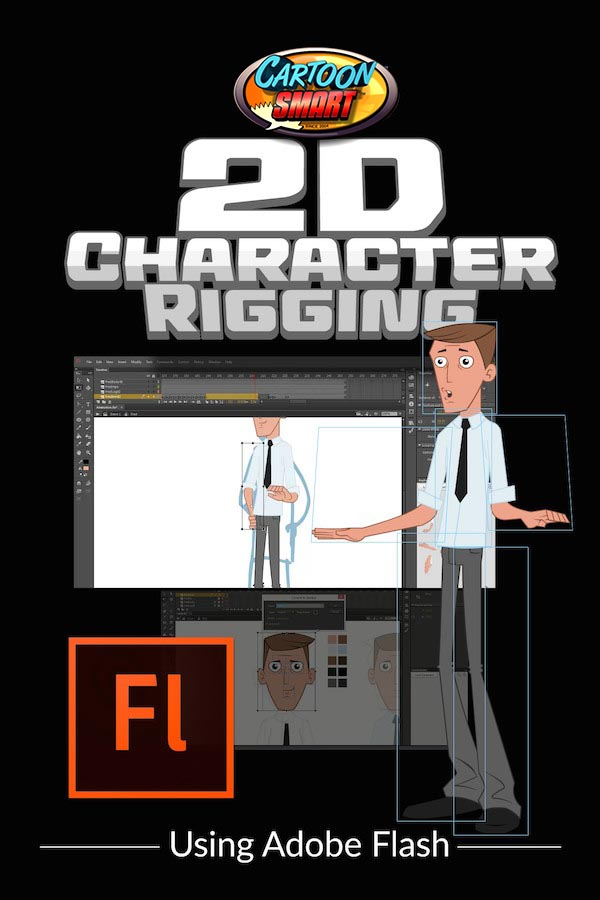 2D character rigging video tutorials