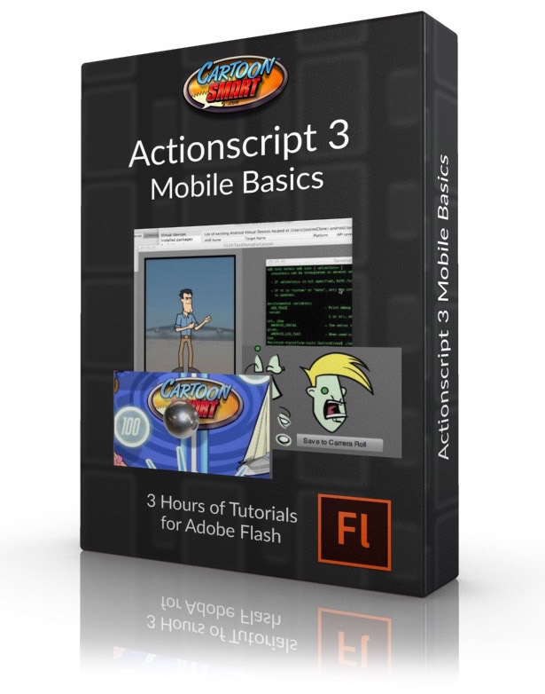 Actionscript 3 Mobile Basics Video Tutorials