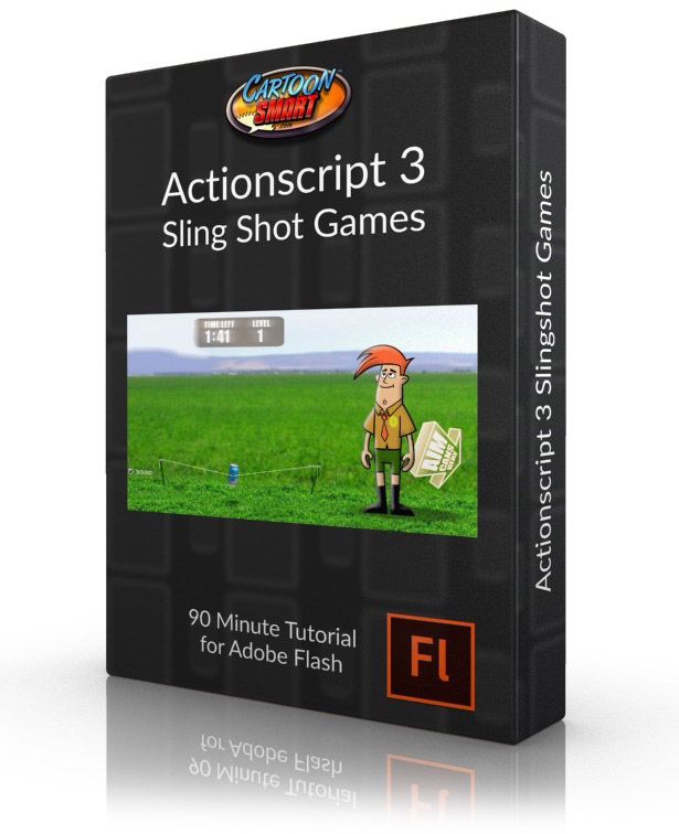 Actionscript 3 Sling Shot Games - Video tutorial