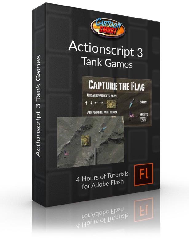 Actionscript 3 Tank Games video tutorial