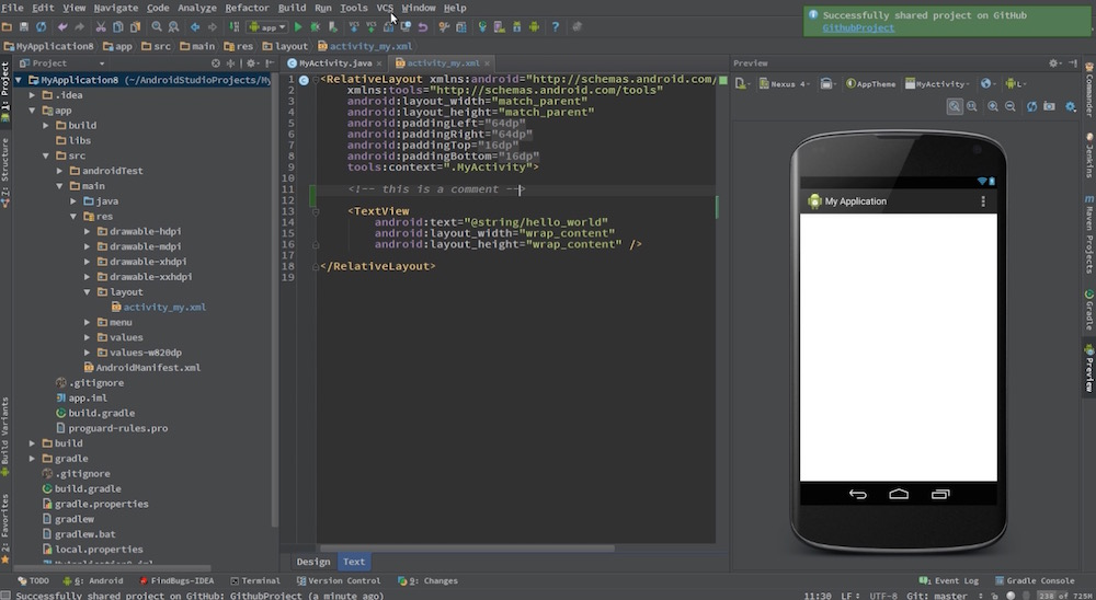 Android Studio Tutorials Screenshot 2