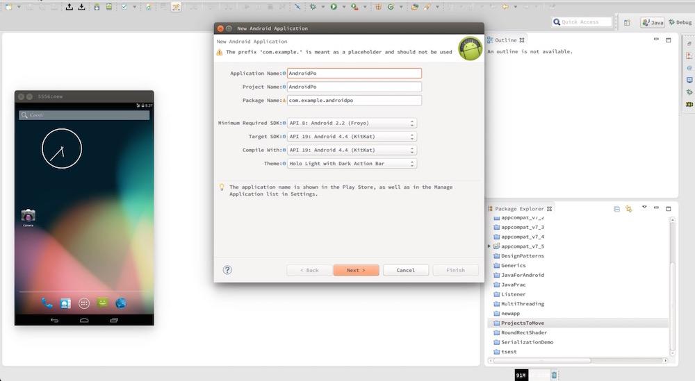Android Studio Tutorials Screenshot 3