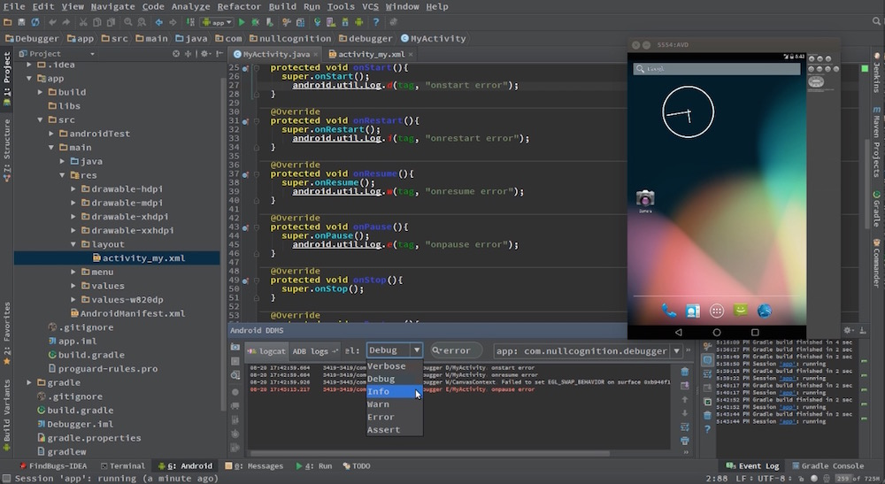 Android Studio Tutorials Screenshot 5