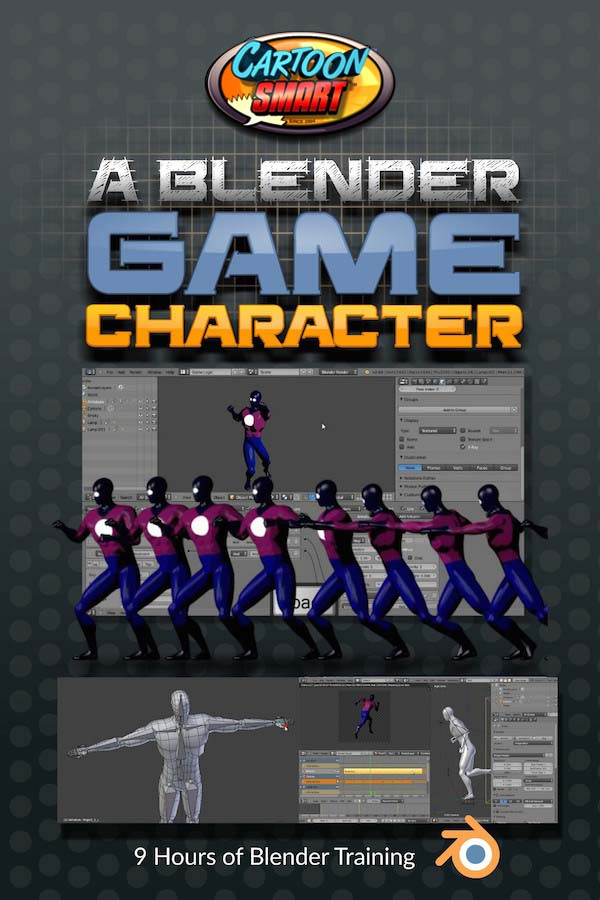 Blender Game Character Video Tutorials