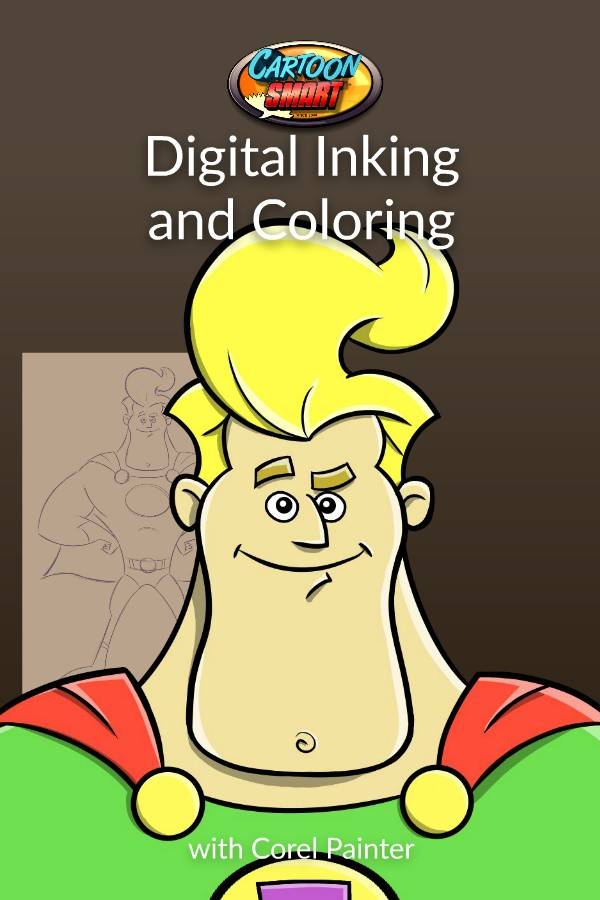 Digital Inking and Coloring with Corel Painter Video Tutorials