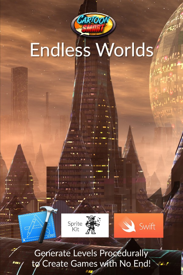 The Endless Worlds Swift and Sprite Kit Tutorials get 3 New Videos!