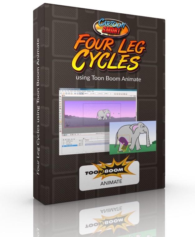 Four Leg Walk Cycles Tutorial for Toon Boom Animate