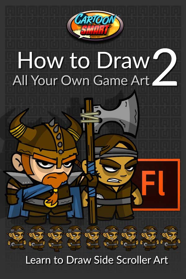 How to Draw All Your Own Game Art 2 Video Tutorials