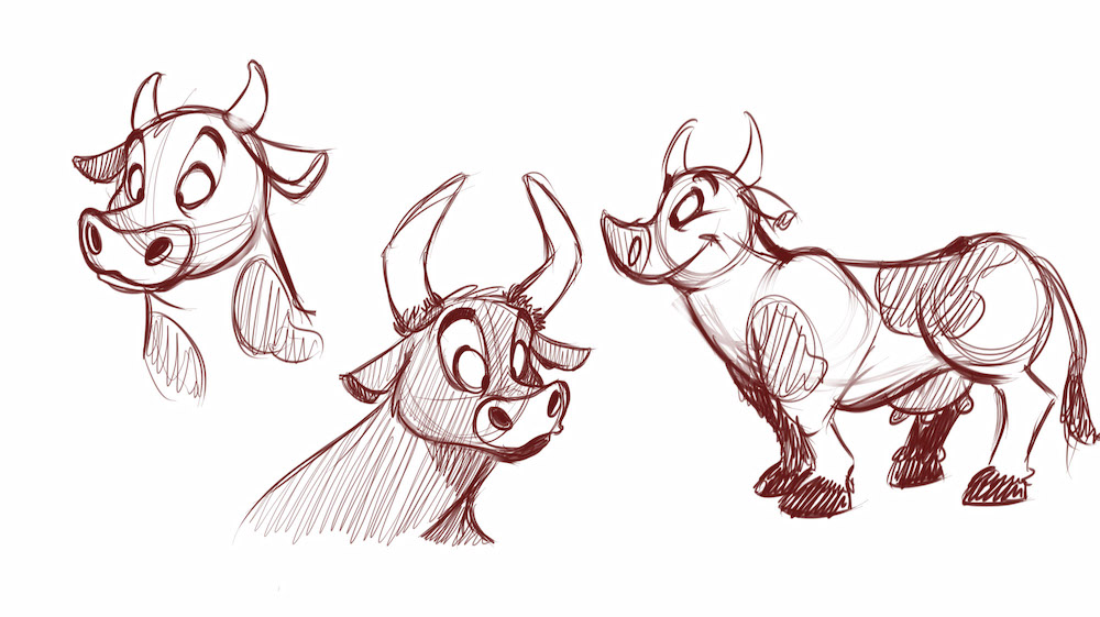 How to draw cartoon farm animals