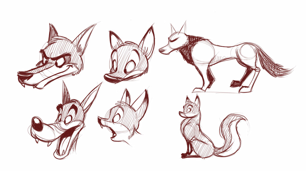 How to Draw Cartoon Forest Animals
