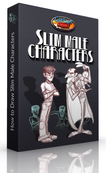 How to Draw Slim Male Characters