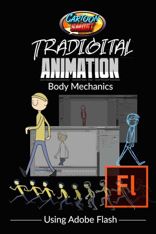Traditional Animation Video Tutorials Body Mechanics