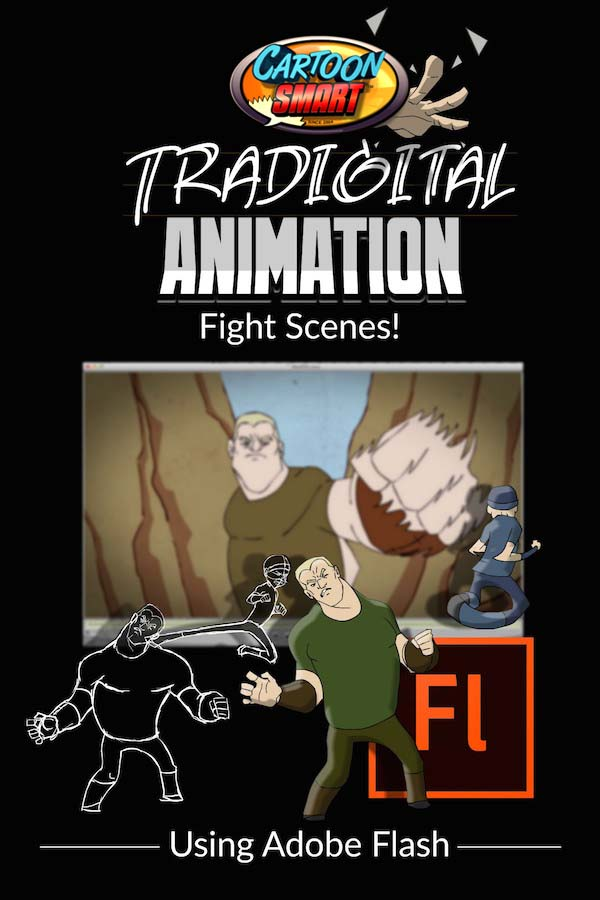 Traditional Animation Video Tutorials Fight Scenes