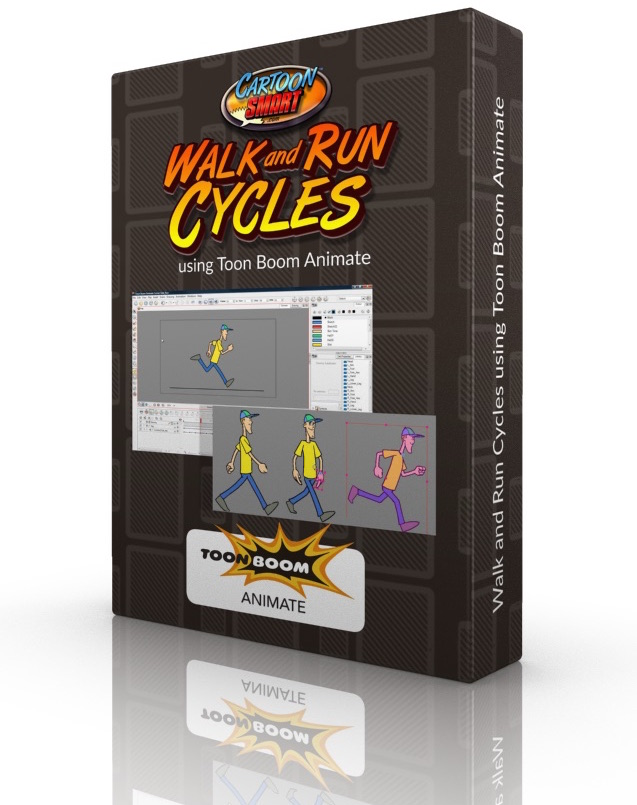 Walk and Run Cycles Video Tutorials for Toon Boom Animate