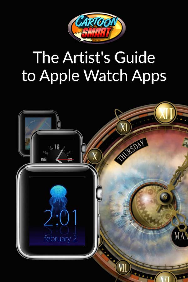 apple watch video tutorials for CartoonSmart Subscribers