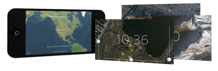 Above Time - The Map Clock App