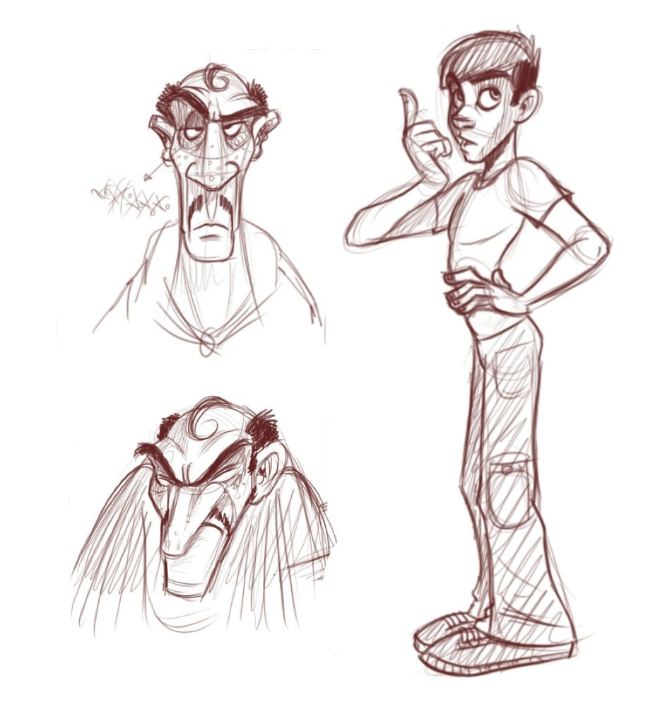 How To Draw Slim Male Characters Cartoonsmart Com