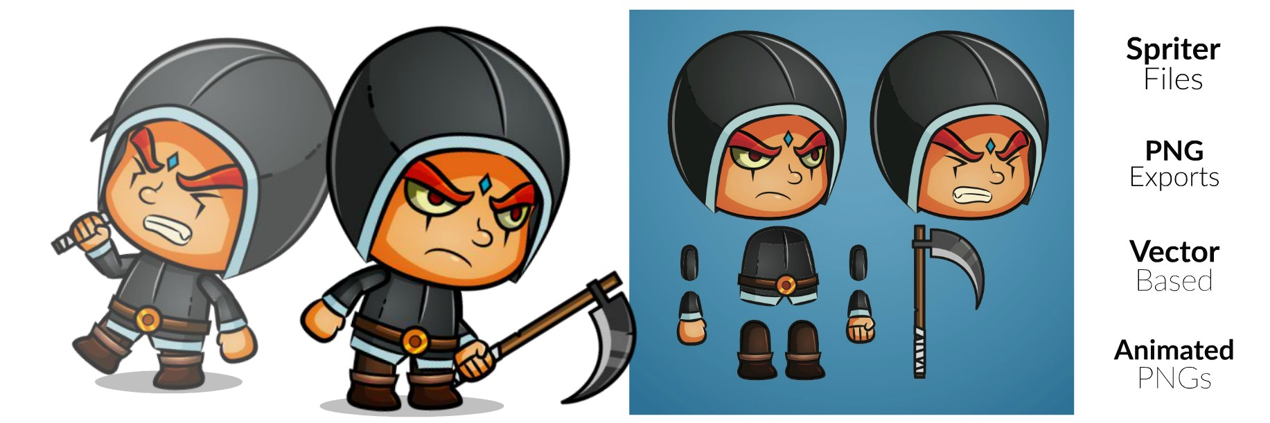 Royalty Free Game Art - The Executioner
