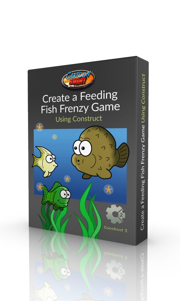 Create a Feeding Fish Frenzy Game using Constructor 2 - Video Tutorial