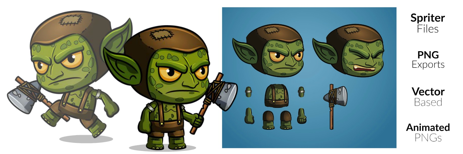 Royalty Free Game Art - The Goblin