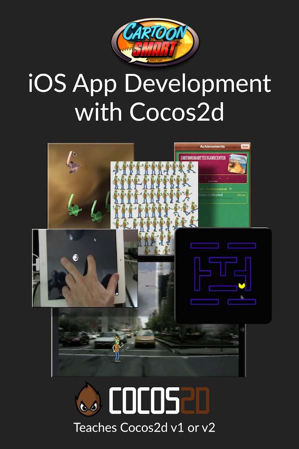iOS App Developer with Cocos2d Video Tutorials
