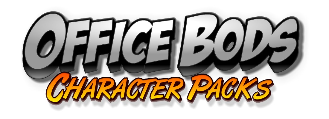 Office Bods - Toon Boom Animate Character Pack Template