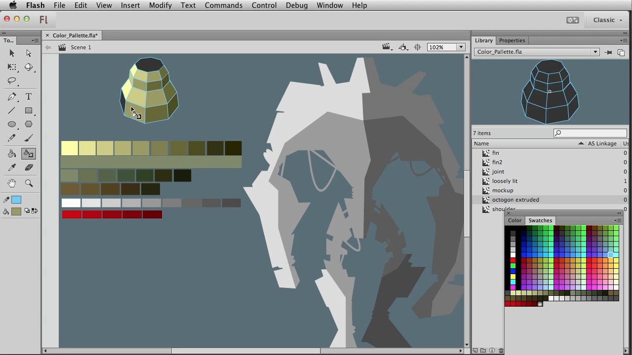 How To Draw Giant Robots With Adobe Flash €� Video Tutorials