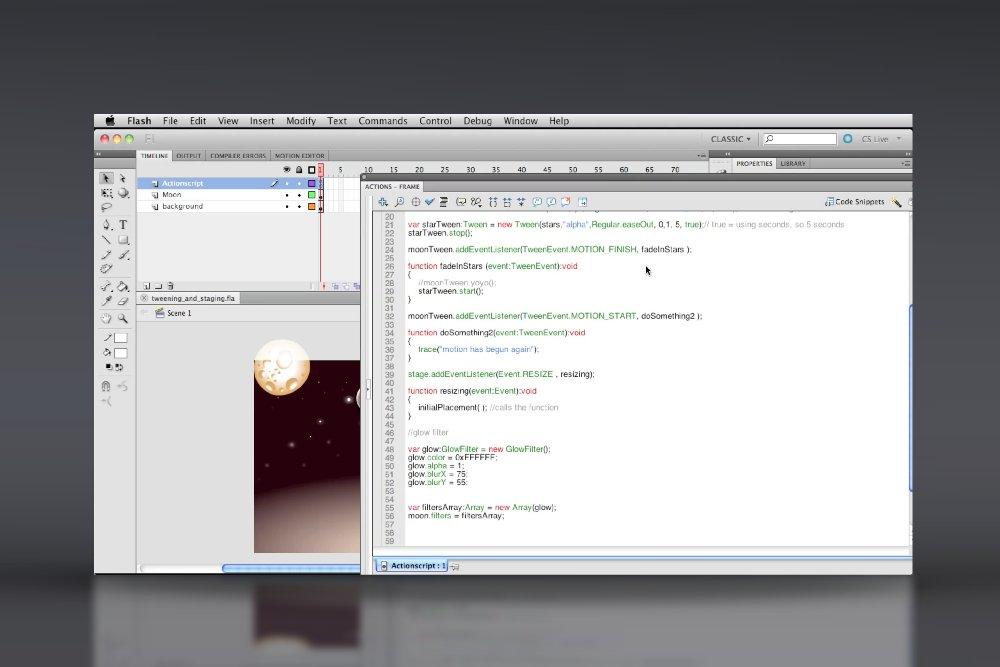 Actionscript 3 Basics Video Tutorial Course