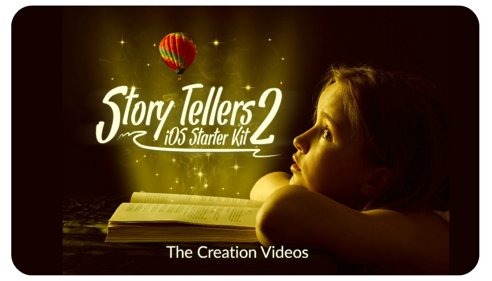 The Story Tellers Kit 2 is on the precipice's edge of version 1!
