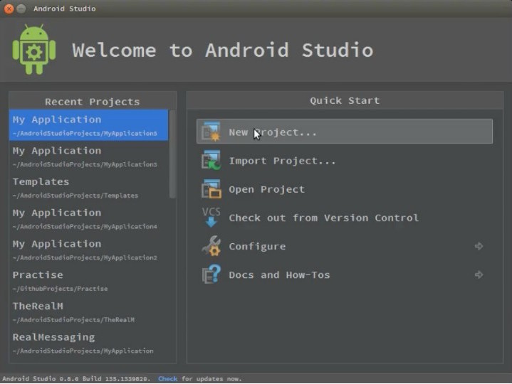 welcome to android studio tutorial
