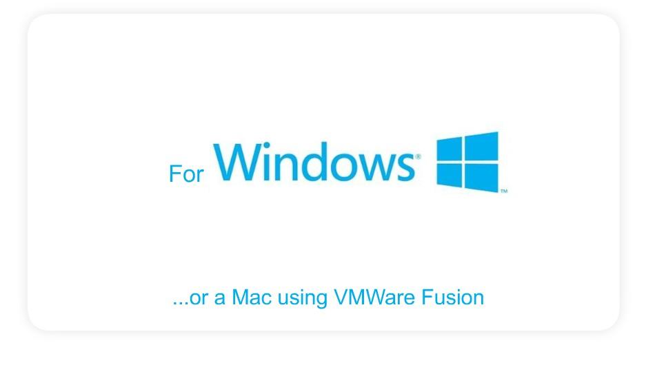 Develop on Windows