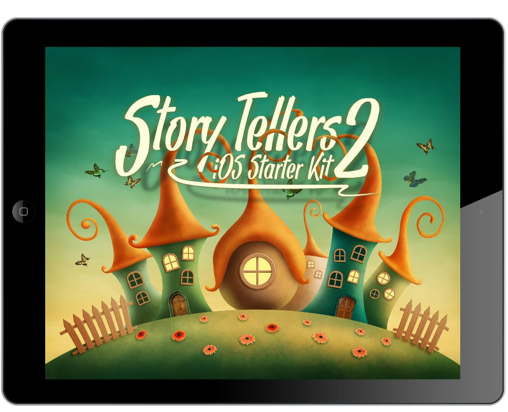 Story Tellers iOS Starter Kit 2 - Swift 2, iOS9 Built