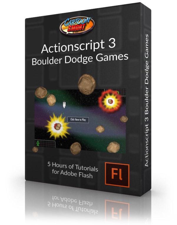 Actionscript 3 Boulder Dodge Games Video Tutorials