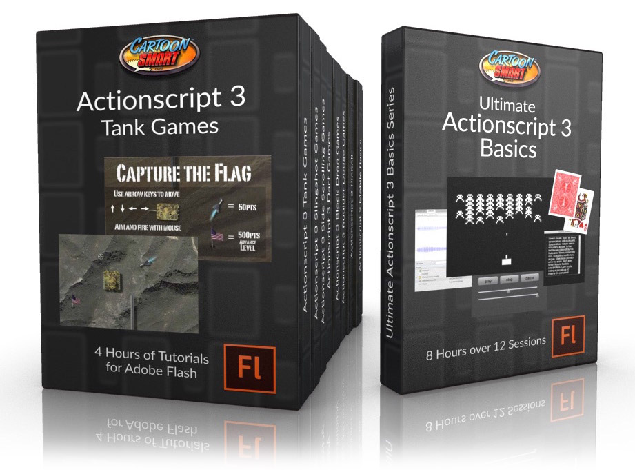 Actionscript 3 Game Development Tutorial Bundle