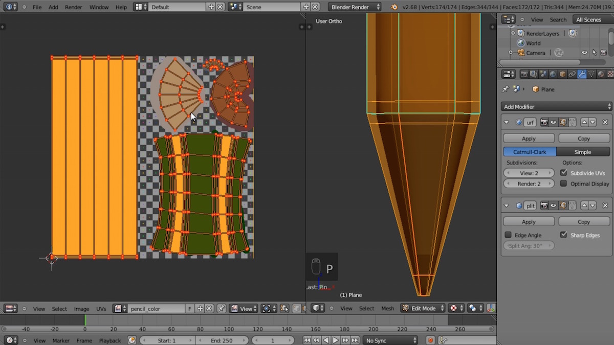 blender tutorial screenshot