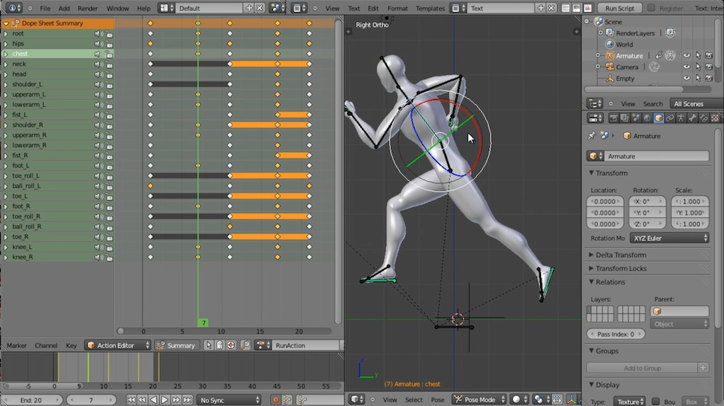 designing a blender game character  u2013 video tutorials