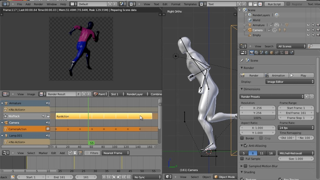 blender video tutorial session details