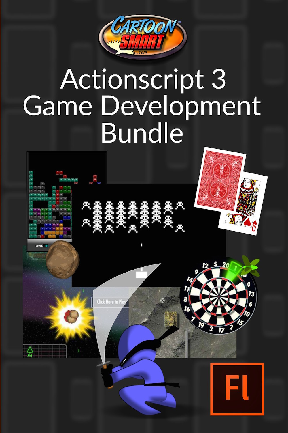 Actionscript 3 game development tutorials – subscriber access.