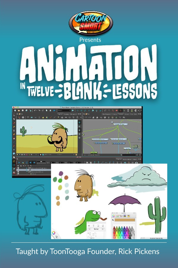New 13 Hour Course – Animation in Twelve BLANK Lessons