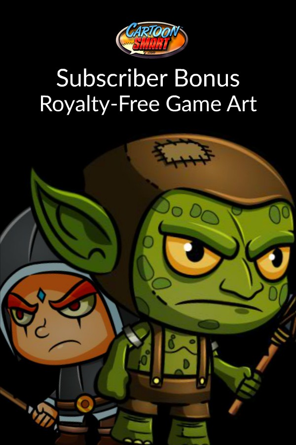 Royalty Free Game Art For June