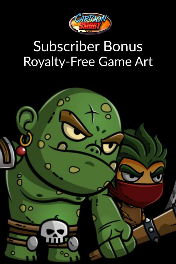 New Royalty Free Game Art for CartoonSmart Subscribers….
