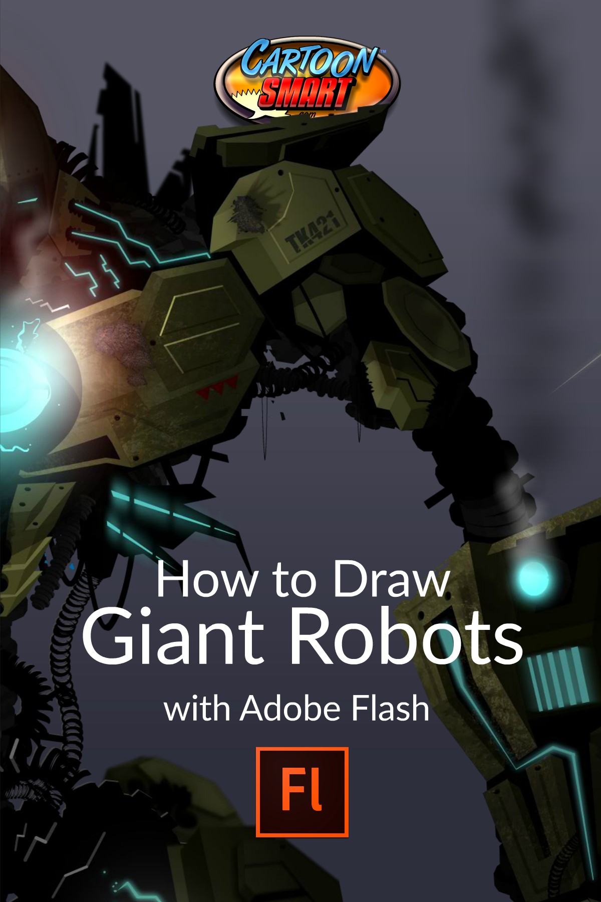 How to Draw Giant Robots with Adobe Flash - Video Tutorials