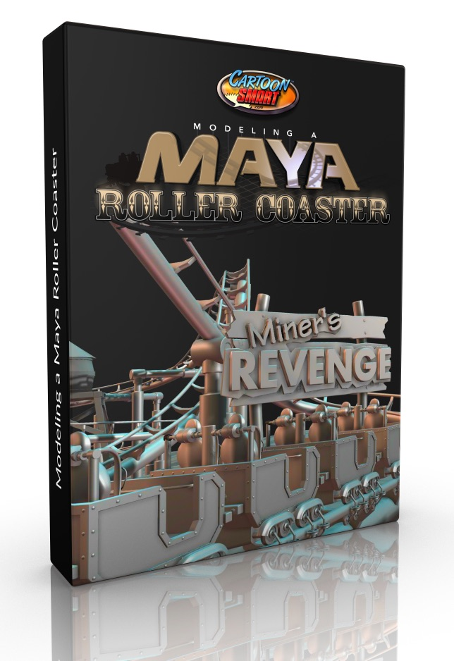 Maya Video Tutorials - Building a Roller Coaster